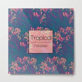 Tropical Paradise: Purple Haze Metal Print