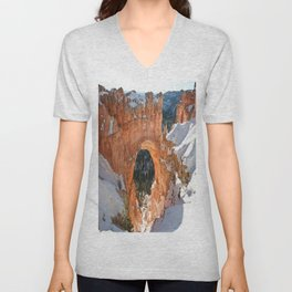 Natural Bridge - Bryce Canyon Unisex V-Neck