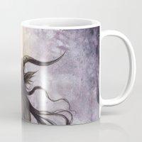 baphomet Mugs featuring Baphomet by Savannah Horrocks