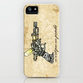 Raygun this is not a pipe iPhone Case