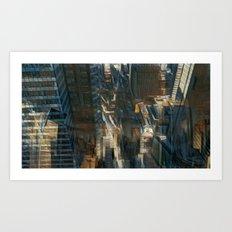 The city ky Jean-François Dupuis Art Print