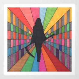 You're Among Friends Art Print