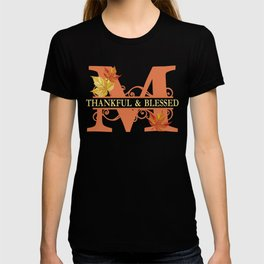 Thanksgiving M Monogram T-shirt