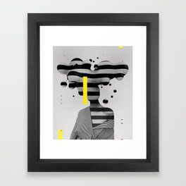 Profile Platick Framed Art Print