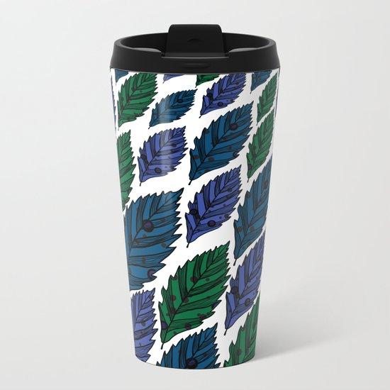 Leaf 10 Metal Travel Mug