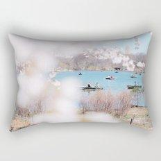 new york spring Rectangular Pillow