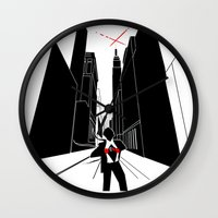book cover Wall Clocks featuring Infected - Book Cover by svitka