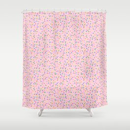 Strawberry frosted sprinkles Shower Curtain