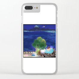 Mid-Autumn Onsen at Fuji Clear iPhone Case