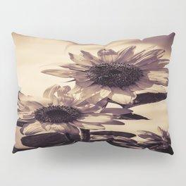 Post card Sunflowers Pillow Sham