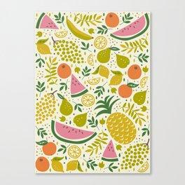 Fruit Mix Canvas Print