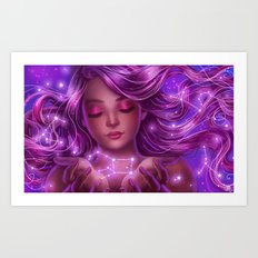 Like stars in the sky Art Print