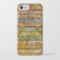 world maps iPhone & iPod Cases featuring Around the World in Thirteen Maps by Diego Tirigall