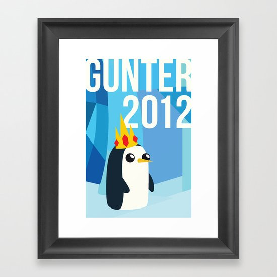 Gunter for Ice King 2012! Framed Art Print