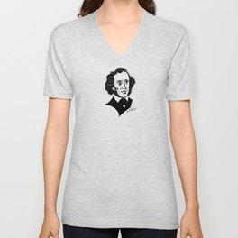 Felix Mendelssohn Unisex V-Neck