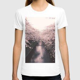 Cherry Blossom Lane T-shirt