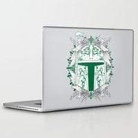 boba Laptop & iPad Skins featuring Boba Tatt by Matthew Bartlett