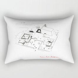 Le Corbusier The Architect Rectangular Pillow