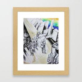 Exhaust Framed Art Print