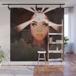 Rihanna as Japanese Deity Triptych (Amaterasu) Wall Mural