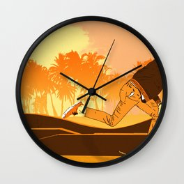 Kick Push.. Coast Wall Clock