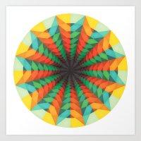 iris Art Prints featuring Iris by Anai Greog