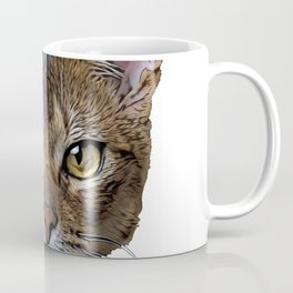 Cat Abyssinian American Shorthair Curl Traditional Usual Standard Coffee Mug