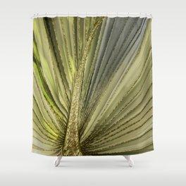 Leaf Peacock Shower Curtain