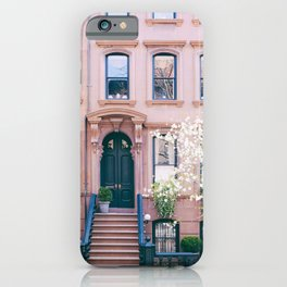 Spring in Greenwich Village - New York Photography iPhone Case