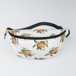 Blooming Citrus Watercolor Fanny Pack