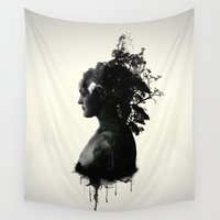 mother Wall Tapestries featuring Mother Earth by Nicklas Gustafsson