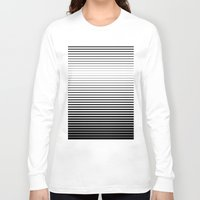 plain Long Sleeve T-shirts featuring plain lines by My Big Fat Brand