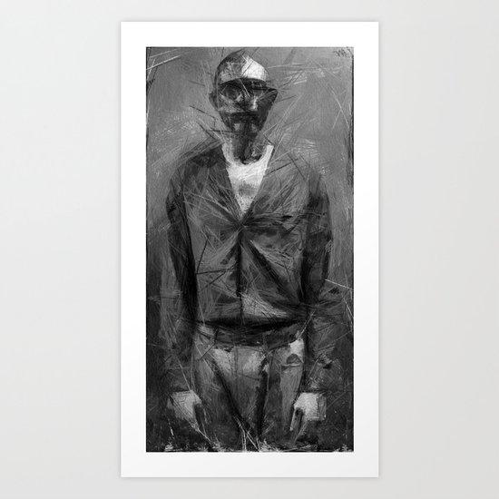 chant of a poor man Art Print
