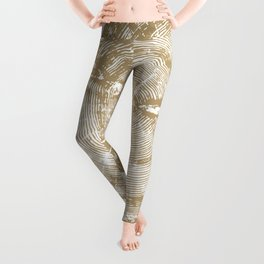 Sundance Pine, Tree ring print Leggings