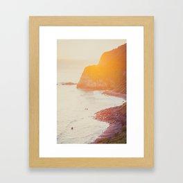 Matin Noir I Framed Art Print