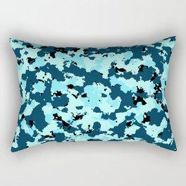 Bad Ass Aqua Rectangular Pillow