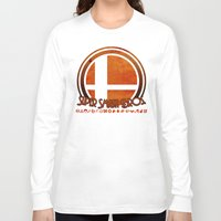 super smash bros Long Sleeve T-shirts featuring Super Smash Bros.  by Donkey Inferno