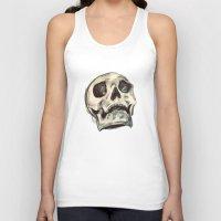 skulls Tank Tops featuring Skulls by Lauren Draghetti