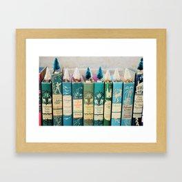 Christmas in Green Framed Art Print