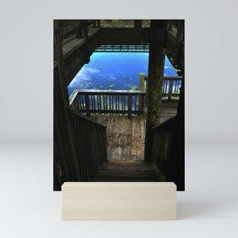 Looking down Mini Art Print