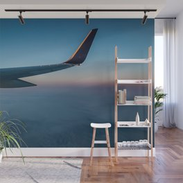 Sunrise in the Clouds Wall Mural