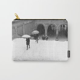 Winter Walk in New York Carry-All Pouch