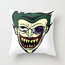 Midnight Toker Throw Pillow
