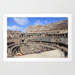 Coliseum  Art Print
