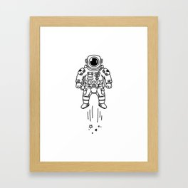 Cosmic Stranger 1 Framed Art Print