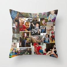 Vincent's quilt! Throw Pillow