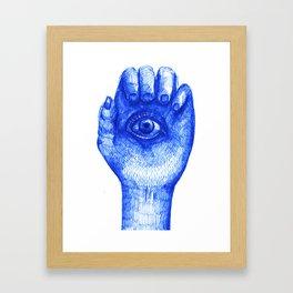 feel to see Framed Art Print