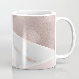 Lilac Lemonade - rose gold marble Coffee Mug