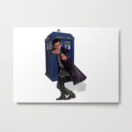 11th Doctor Metal Print