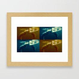 Floating Collage II Framed Art Print